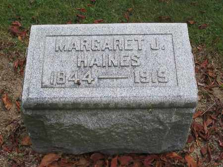 HAINES, MARGARET - Union County, Ohio | MARGARET HAINES - Ohio Gravestone Photos