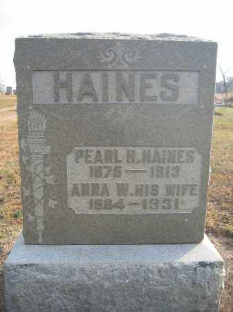 HAINES, PEARL H. - Union County, Ohio | PEARL H. HAINES - Ohio Gravestone Photos