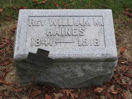 HAINES, WILLIAM - Union County, Ohio | WILLIAM HAINES - Ohio Gravestone Photos