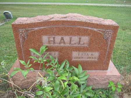 HALL, ESTA A. - Union County, Ohio | ESTA A. HALL - Ohio Gravestone Photos