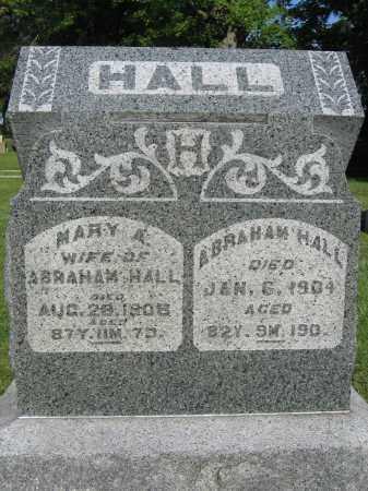 HALL, MARY A. - Union County, Ohio | MARY A. HALL - Ohio Gravestone Photos
