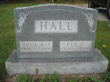 HALL, EVA C. - Union County, Ohio | EVA C. HALL - Ohio Gravestone Photos
