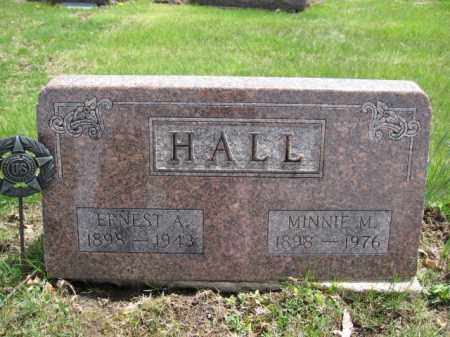 HALL, ERNEST A. - Union County, Ohio | ERNEST A. HALL - Ohio Gravestone Photos