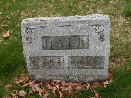 HALL, ISYPHENA - Union County, Ohio | ISYPHENA HALL - Ohio Gravestone Photos