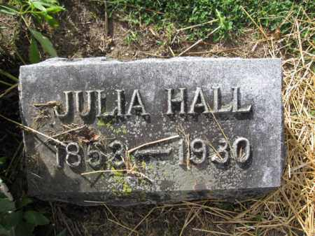 HALL, JULIA PARKER - Union County, Ohio | JULIA PARKER HALL - Ohio Gravestone Photos
