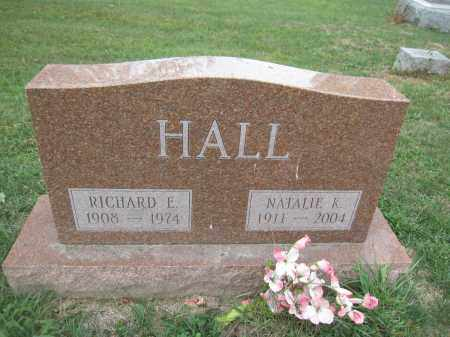 HALL, NATALIE K. - Union County, Ohio | NATALIE K. HALL - Ohio Gravestone Photos