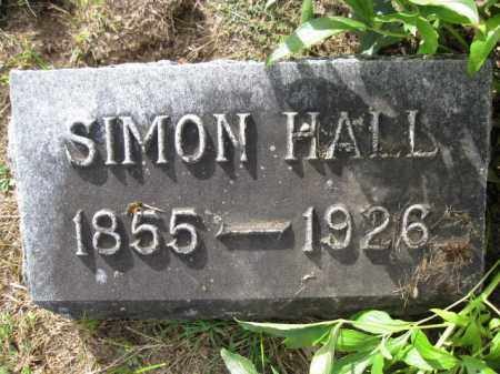 HALL, SIMON - Union County, Ohio | SIMON HALL - Ohio Gravestone Photos