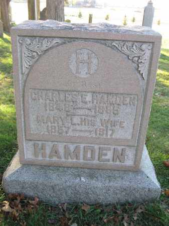 HAMDEN, MARY L. - Union County, Ohio | MARY L. HAMDEN - Ohio Gravestone Photos