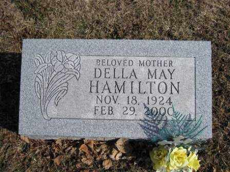 HAMILTON, DELLA MAY - Union County, Ohio | DELLA MAY HAMILTON - Ohio Gravestone Photos