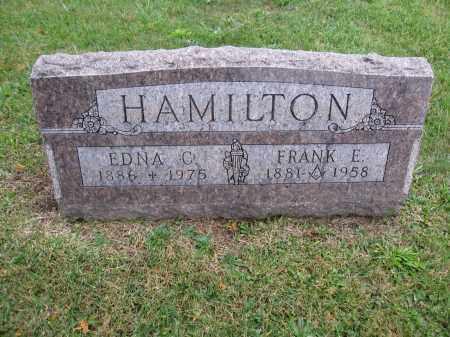 HAMILTON, EDNA C. - Union County, Ohio | EDNA C. HAMILTON - Ohio Gravestone Photos