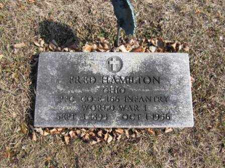 HAMILTON, FRED - Union County, Ohio | FRED HAMILTON - Ohio Gravestone Photos
