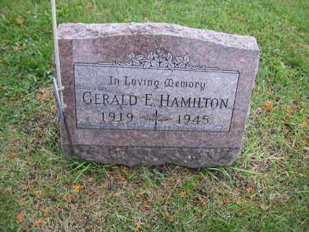 HAMILTON, GERALD E. - Union County, Ohio | GERALD E. HAMILTON - Ohio Gravestone Photos