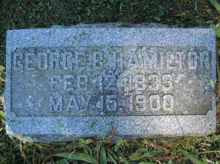 HAMILTON, GEORGE B. - Union County, Ohio | GEORGE B. HAMILTON - Ohio Gravestone Photos