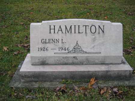 HAMILTON, GLENN L. - Union County, Ohio | GLENN L. HAMILTON - Ohio Gravestone Photos