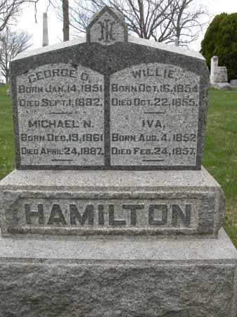 HAMILTON, GEORGE O. - Union County, Ohio | GEORGE O. HAMILTON - Ohio Gravestone Photos