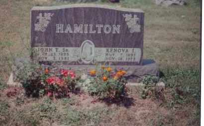 HAMILTON, JOHN THOMAS - Union County, Ohio | JOHN THOMAS HAMILTON - Ohio Gravestone Photos