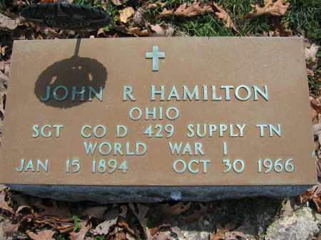 HAMILTON, JOHN R. - Union County, Ohio | JOHN R. HAMILTON - Ohio Gravestone Photos