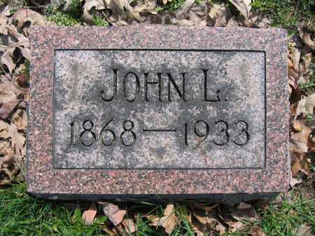 HAMILTON, JOHN L - Union County, Ohio | JOHN L HAMILTON - Ohio Gravestone Photos