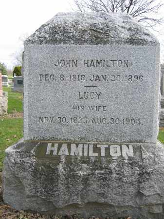 HAMILTON, LUCY - Union County, Ohio | LUCY HAMILTON - Ohio Gravestone Photos