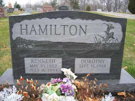 HAMILTON, KENNETH - Union County, Ohio | KENNETH HAMILTON - Ohio Gravestone Photos