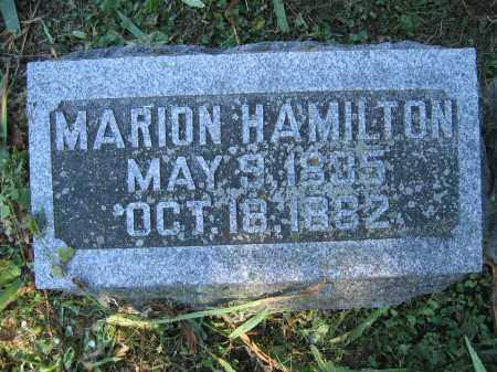 HAMILTON, MARION - Union County, Ohio | MARION HAMILTON - Ohio Gravestone Photos