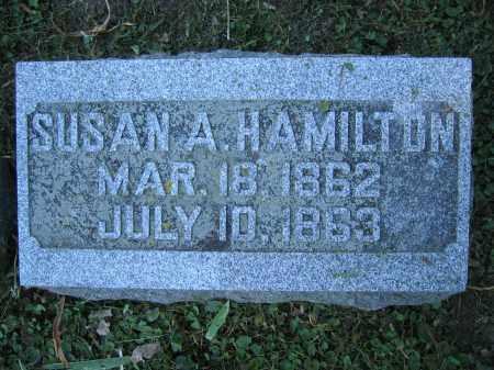 HAMILTON, SUSAN A. - Union County, Ohio | SUSAN A. HAMILTON - Ohio Gravestone Photos