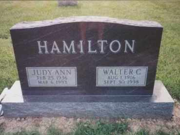 CASE HAMILTON, JUDITH ANN - Union County, Ohio | JUDITH ANN CASE HAMILTON - Ohio Gravestone Photos