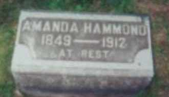 HAMMOND, AMANDA E MARTIN - Union County, Ohio | AMANDA E MARTIN HAMMOND - Ohio Gravestone Photos