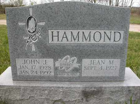 HAMMOND, JEAN M. - Union County, Ohio | JEAN M. HAMMOND - Ohio Gravestone Photos