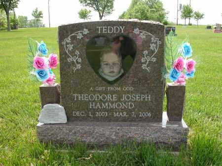 HAMMOND, THEODORE JOSEPH - Union County, Ohio | THEODORE JOSEPH HAMMOND - Ohio Gravestone Photos