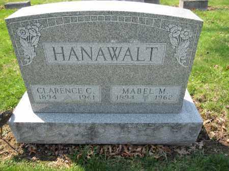 HANAWALT, CLARENCE C. - Union County, Ohio | CLARENCE C. HANAWALT - Ohio Gravestone Photos