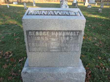 HANAWALT, ESTHER ANN - Union County, Ohio | ESTHER ANN HANAWALT - Ohio Gravestone Photos
