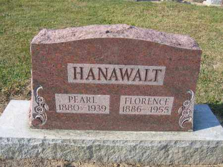 HANAWALT, FLORENCE - Union County, Ohio | FLORENCE HANAWALT - Ohio Gravestone Photos