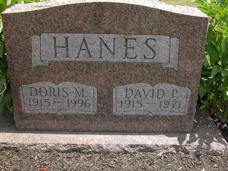 HANES, DAVID P. - Union County, Ohio | DAVID P. HANES - Ohio Gravestone Photos