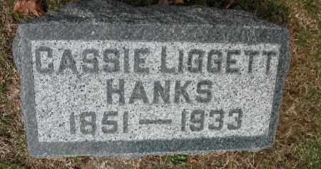 HANKS, CASSIE LIGGETT - Union County, Ohio | CASSIE LIGGETT HANKS - Ohio Gravestone Photos