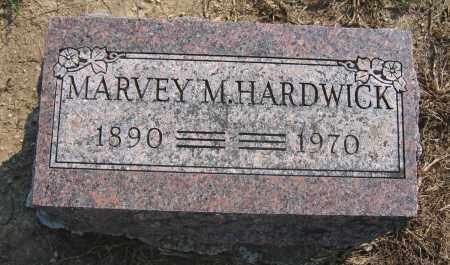 HARDWICK, MARVEY M. - Union County, Ohio | MARVEY M. HARDWICK - Ohio Gravestone Photos