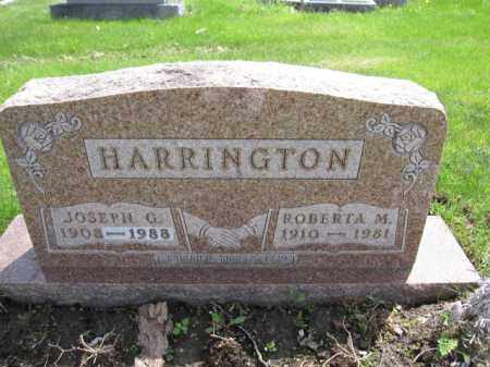 HARRINGTON, ROBERTA M. - Union County, Ohio | ROBERTA M. HARRINGTON - Ohio Gravestone Photos