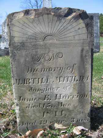 HARRIOTT, MARTHA MATILDA - Union County, Ohio | MARTHA MATILDA HARRIOTT - Ohio Gravestone Photos