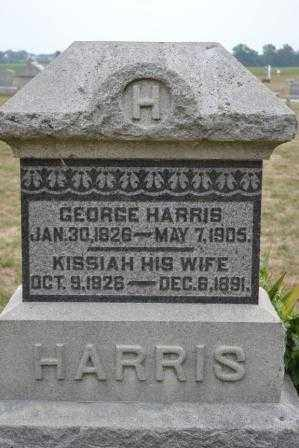 HARRIS, KISSIAH - Union County, Ohio | KISSIAH HARRIS - Ohio Gravestone Photos