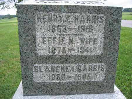 HARRIS, EFFIE M. - Union County, Ohio | EFFIE M. HARRIS - Ohio Gravestone Photos