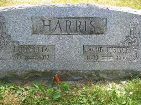 HARRIS, JACOB JUSTICE - Union County, Ohio | JACOB JUSTICE HARRIS - Ohio Gravestone Photos