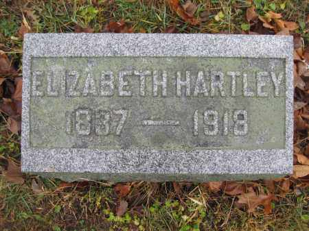 HARTLEY, ELIZABETH - Union County, Ohio | ELIZABETH HARTLEY - Ohio Gravestone Photos