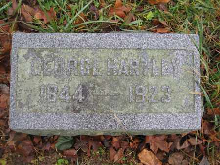 HARTLEY, GEORGE - Union County, Ohio | GEORGE HARTLEY - Ohio Gravestone Photos