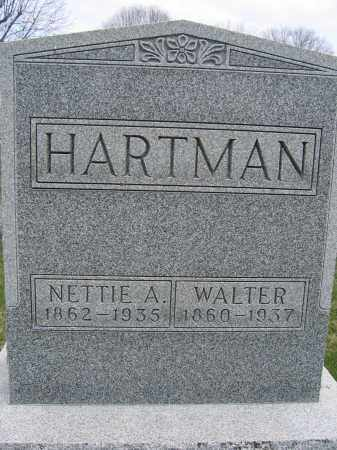 HARTMAN, WALTER - Union County, Ohio | WALTER HARTMAN - Ohio Gravestone Photos
