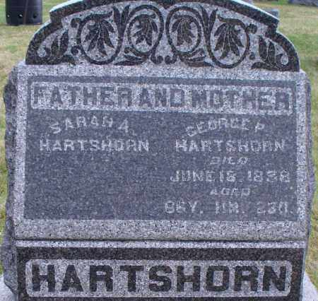 HARTSHORN, GEORGE P - Union County, Ohio | GEORGE P HARTSHORN - Ohio Gravestone Photos