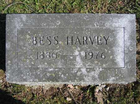 HARVEY, BESS - Union County, Ohio | BESS HARVEY - Ohio Gravestone Photos