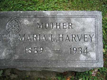 HARVEY, MARIA L. - Union County, Ohio | MARIA L. HARVEY - Ohio Gravestone Photos
