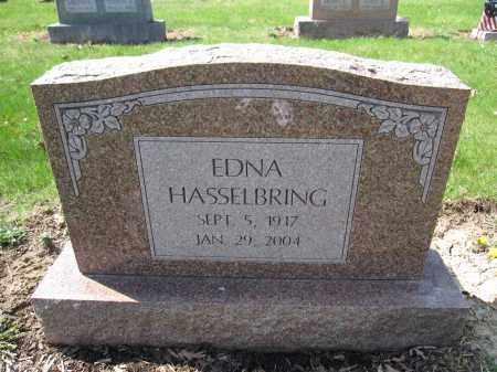 HASSELBRING, EDNA - Union County, Ohio | EDNA HASSELBRING - Ohio Gravestone Photos
