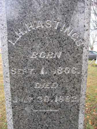 HASTINGS, LAZARUS H. - Union County, Ohio   LAZARUS H. HASTINGS - Ohio Gravestone Photos