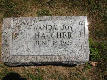 HATCHER, WANDA JOY - Union County, Ohio   WANDA JOY HATCHER - Ohio Gravestone Photos